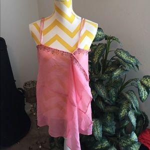 Tramp Sheer Silk Blouse